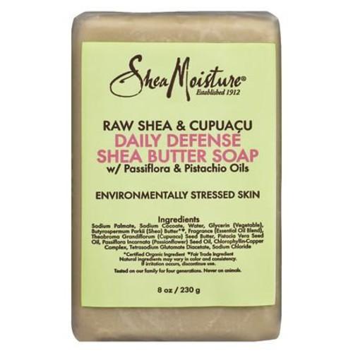SheaMoisture Raw Shea & Cupuaca Daily Defense Shea Butter Bar Soap