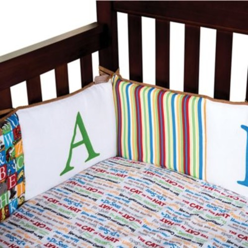 Dr. Seuss by Trend Lab Alphabet Seuss Crib Bumper