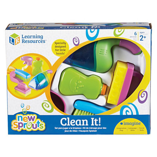 Sprouts - Clean It! Play Set - Polyvinyl Chloride (PVC)