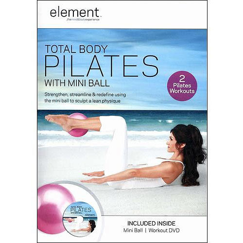 Element: Total Body Pilates [With Mini Ball] [DVD] [2011]