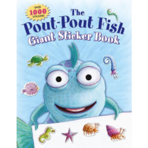 The Pout-Pout Fish Giant Sticker Book