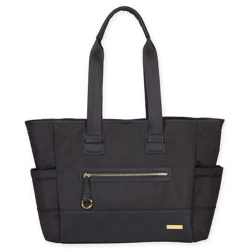 Skip*Hop Chelsea 2-in-1 Downtown Chic Tote Diaper Bag in Black