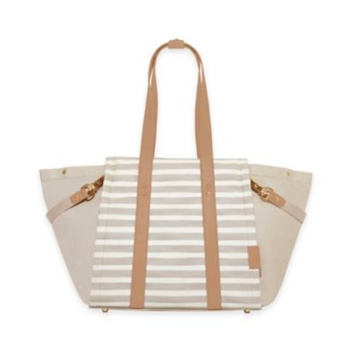 SKIP*HOP Highline Tote Diaper Bag in Oyster White