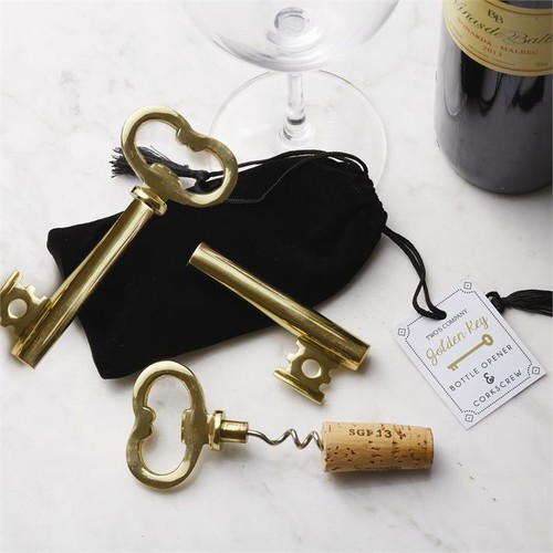 Golden Key Bottle Opener design by Twos Company