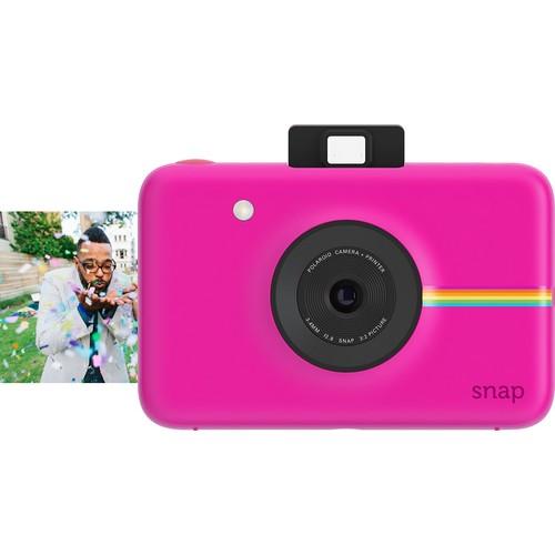 Polaroid - Snap 10.0-Megapixel Digital Camera - Pink