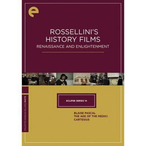 Rossellini's History Films: Renaissance and Enlightenment [Criterion Collection] [DVD]