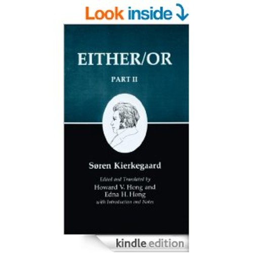 Kierkegaard's Writings IV, Part II: Either/Or: Either/Or: 002