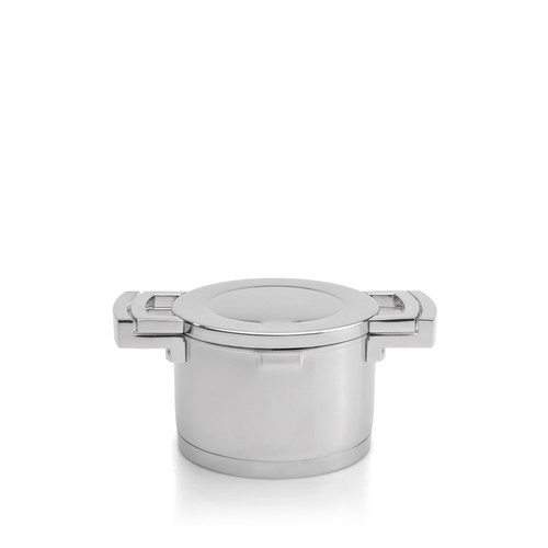 6.7 qt. Silver Covered Stockpot