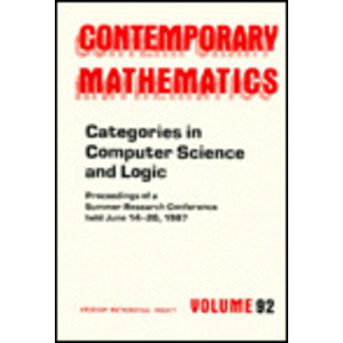 Categories in Computer Science and Logic