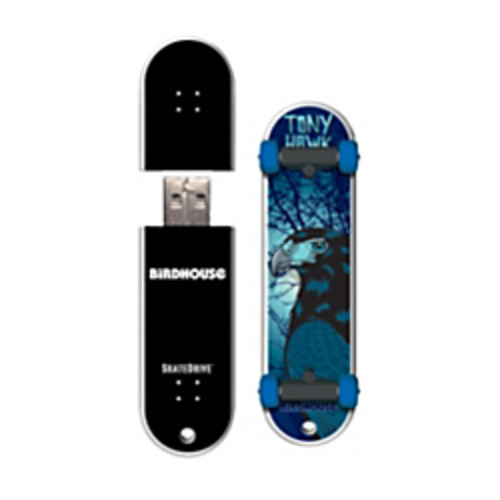 Action Sport Drives Birdhouse/Tony Hawk SkateDrive USB Flash Drive, 8GB, Never Was