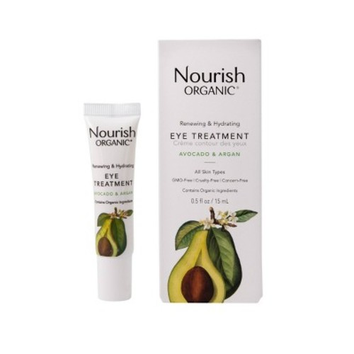 Nourish Organic Eye Treatment -- 0.5 fl oz