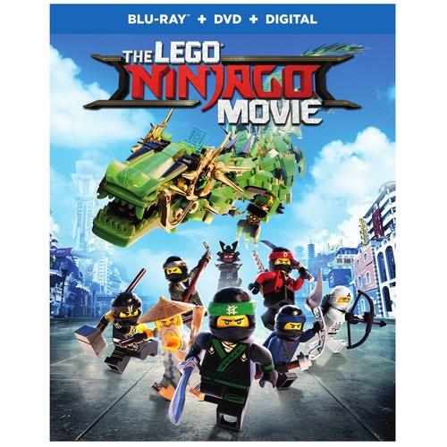 The Lego Ninjago Movie (Blu-ray + DVD + Digital)