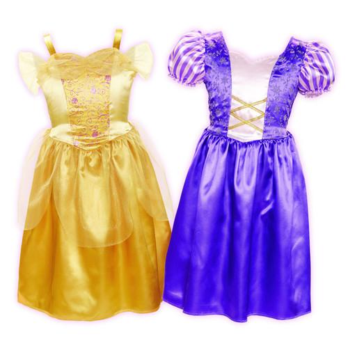 Disney Princess Dress up Trunk Set - Rapunzel and Belle