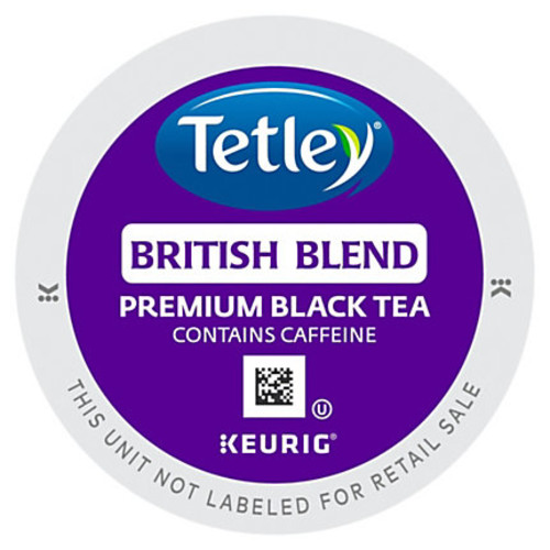 Tetley British Blend Black Tea - Black Tea - British Blend - K-Cup - 24 / Box
