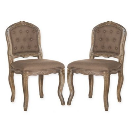 Safavieh Eloise French Leg Dining Chairs (Set of 2)