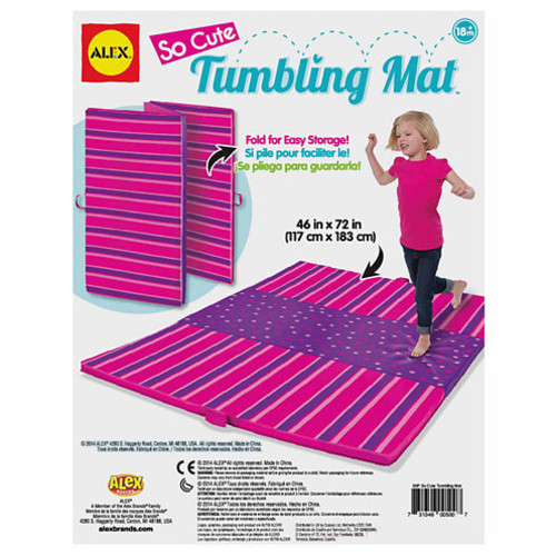 Alex Toys Active Play So Cute Tumbling Mat Discovery Toy