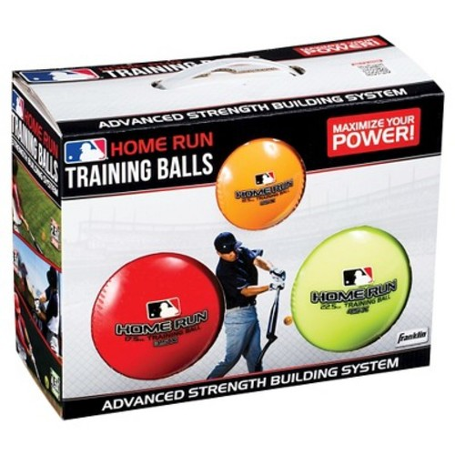 Franklin Sports MLB 3 Ball Home Run Training Pack