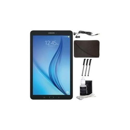 Samsung Galaxy Tab E 9.6 16GB Tablet PC (Wi-Fi) - Black Accessory Bundle - E1SAMSMT560NZKUXAR