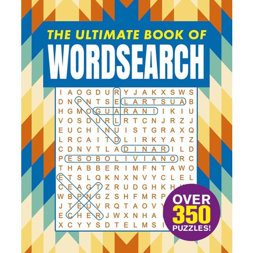 The Ultimate Book of Wordsearch (Paperback)