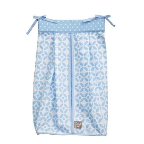 Trend Lab Logan Diaper Stacker, Blue by Trend Lab