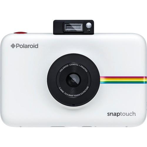 Polaroid - Snap Touch 13.0-Megapixel Digital Camera - White