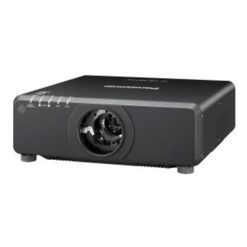 Panasonic PT DW750LBU - DLP projector - 7000 lumens - WXGA (1280 x 800) - 16:10 - HD 720p - no lens - LAN (PT-DW750LBU)
