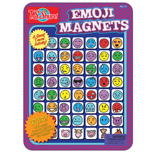 TS Shure Emoji Magnets Magnetic Tin Playset
