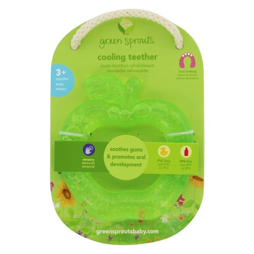 Green Sprouts - Cooling Teether Green Apple 3+ Months Green