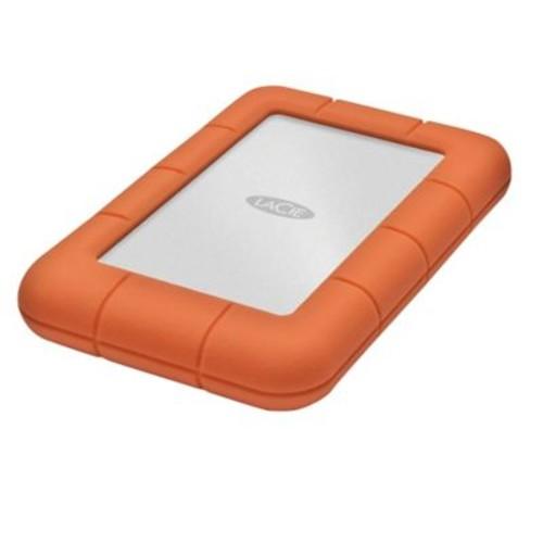 LaCie LAC9000298 2 TB USB 3.0 Portable Rugged Mini Hard Drive Orange
