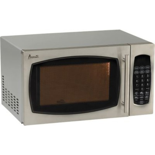 Avanti 0.9-Cu. -Ft. Stainless Steel Microwave Oven
