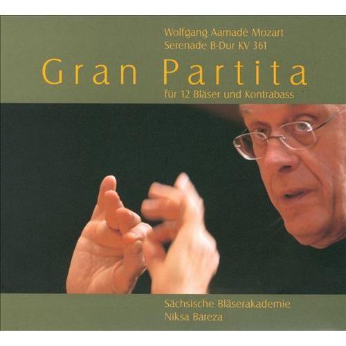 Mozart: Gran Partita [CD]