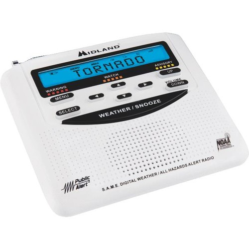 Midland Emergency Weather Alert Radio - WR-120B