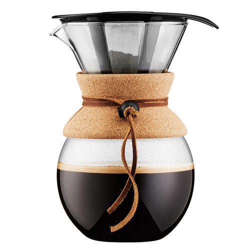 Bodum 34-oz. Cork Band Pour-Over Coffee Maker