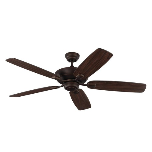 Monte Carlo Colony Max 52 in. Indoor/Outdoor Roman Bronze Ceiling Fan