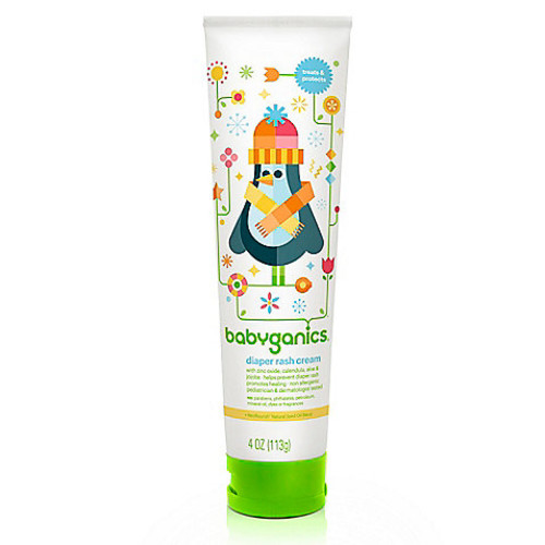 Babyganics 4 oz. Diaper Rash Cream