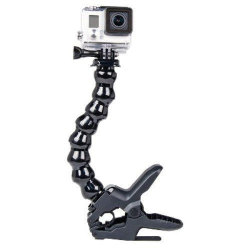 Bower - Low Profile BendiFlex Clamp Mount for GoPro Hero - Black