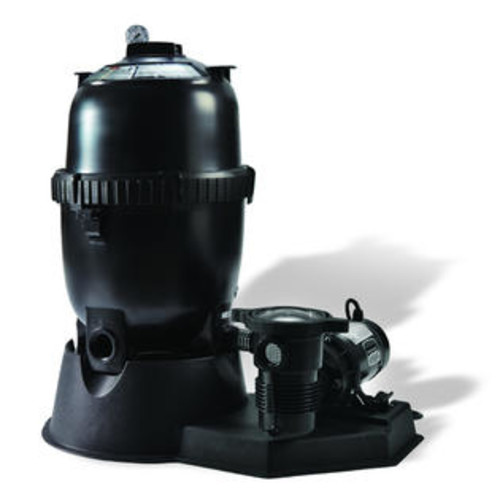 Pentair Sta-Rite 100 Sq.-ft Mod Media Filter System w/ 1 HP Pump for Above Ground Pools