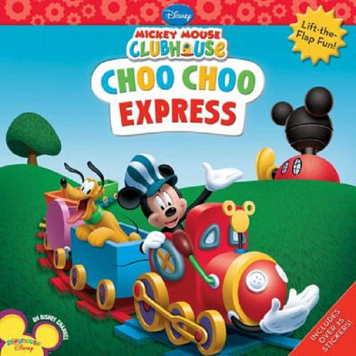 Mickey Mouse Clubhouse Choo Choo Express Book
