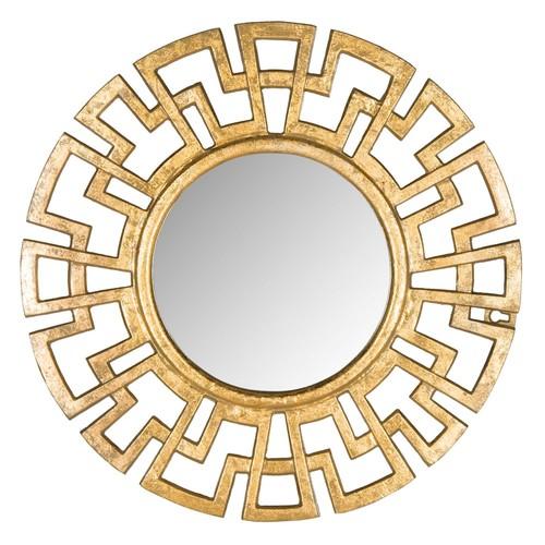 Safavieh Athena Grecian Antique Gold Mirror
