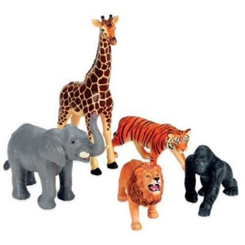 Learning Resources 5-Piece Jumbo Jungle Animals Set