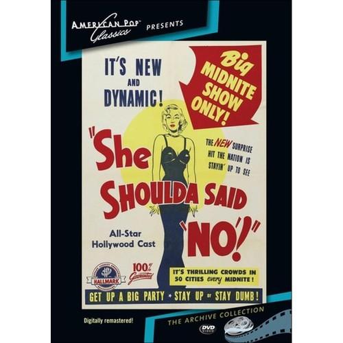 She Shoulda Said No [DVD] [1949]