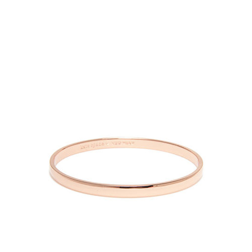 kate spade new york Rose Gold-Tone Stop and Smell the Roses Bangle Bracelet