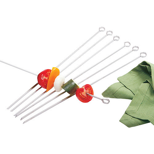 Norpro 1934 Stainless Steel 14-inch Skewers, Set of 6 [14-inch]