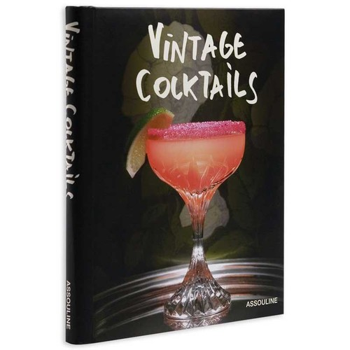 Vintage Cocktails by Brian Van Flandern design by Assouline