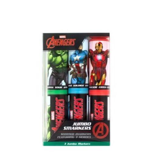 Marvel's Avengers Jumbo Smarker 3-Packs - 2 Sets of Scented Felt Tip Markers