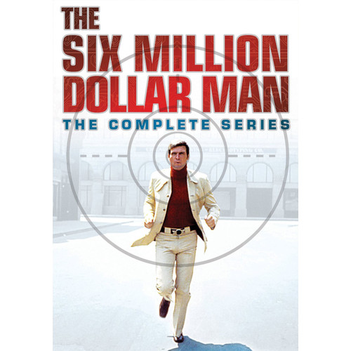 The Six Million Dollar Man: The Complete Series [33 Discs] [DVD]