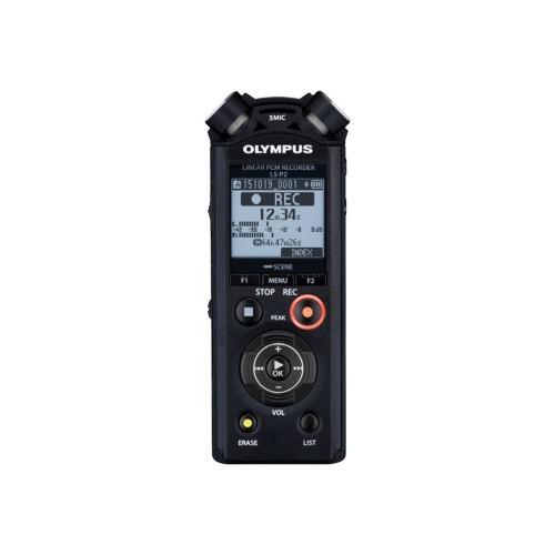 Olympus LS-P2 - Voice recorder - 8 GB (V414151BU000)
