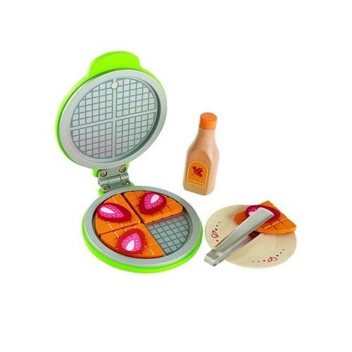 Hape Kids' Wooden Instant Waffles Playset (12-piece Set)