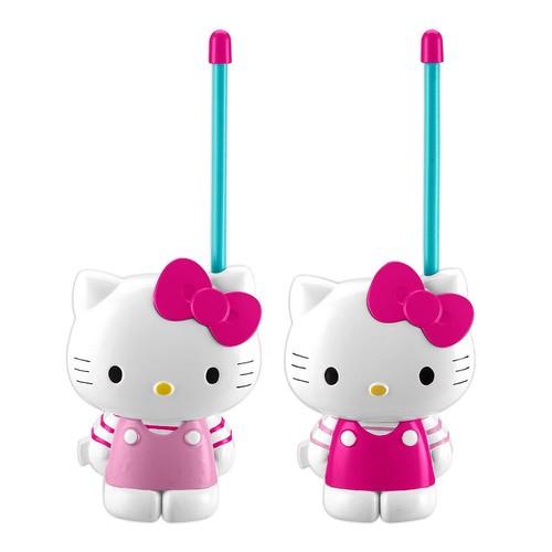 Kiddesigns HY-202.EXV6 Hello Kitty Short Range Walkie Talkies