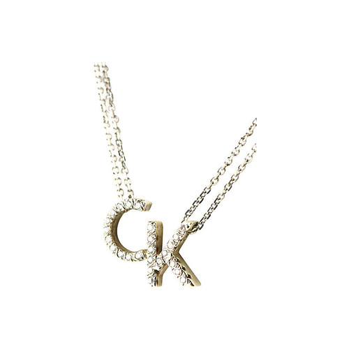 Diamond & Gold Initial Necklace